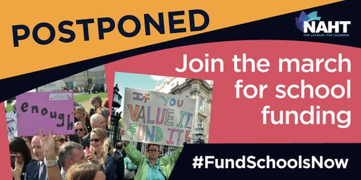 Fund Schools Now March & Rally - POSTPONED