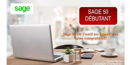 SAGE 50 - DÉBUTANT  FORMATION EN CLASSE