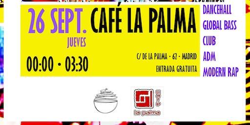 Shake your booty con NegroniRocks! en Café la Palma