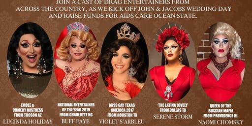 FABULOUS! a charity drag brunch benefiting AIDs Care Ocean State