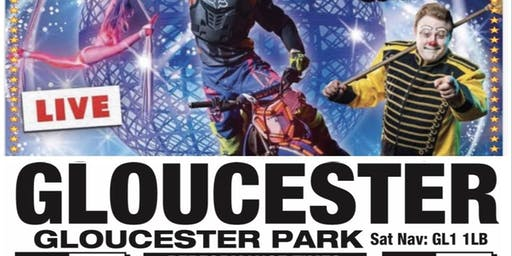 Planet Circus The WOW Factor,  Gloucester!! Special offer £7.99!