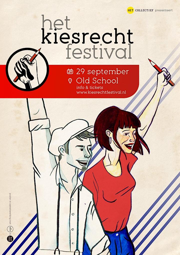 Afbeelding van Student het Kiesrechtfestival