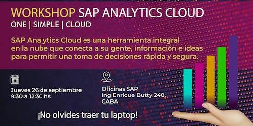 Workshop - SAP Analytics Cloud