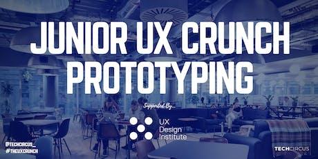 Junior UX Crunch: Prototyping tickets