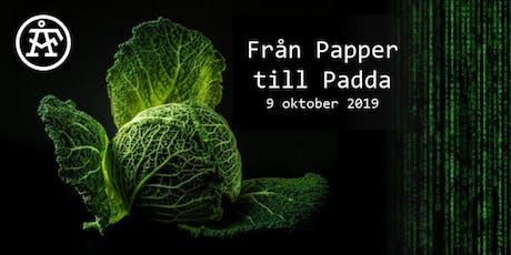 Från Papper till Padda! tickets