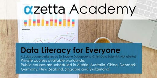 Data Literacy for Everyone - Vienna