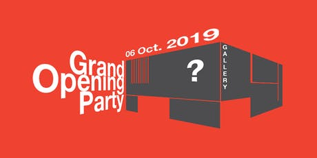 """Opening ceremony of new gallery and """"Welcome to the Gallery 2.0"""" party tickets"""