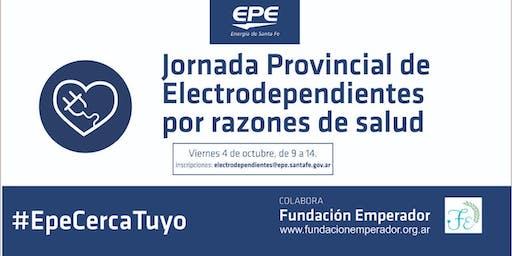 Jornada Provincial de Electrodependientes por razones de salud