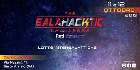 GalaHACKtic Challenge - Lotte intergalattiche IT di Cyber Security tickets