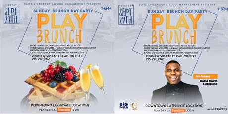 PLAY: Rooftop Brunch Party (featuring HaHa Davis) tickets