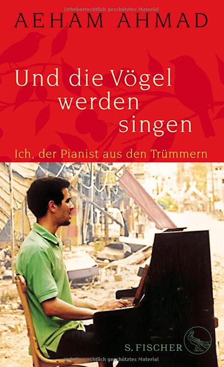 """3. Abend in Wort- und Klangfarben mit dem """"Pianist aus den Trümmern"""": Bild"""