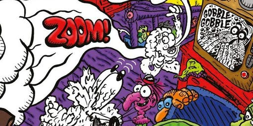 Half Term Children's Comic Book Workshops with Doctor Simpo