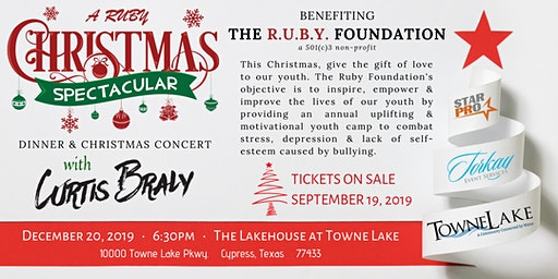 A RUBY Christmas Spectacular with Curtis Braly (Dinner & Concert)