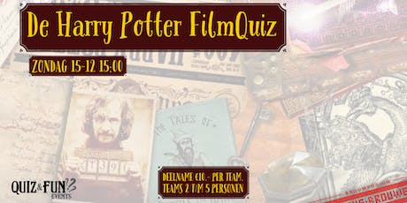 De Harry Potter FilmQuiz | Den Bosch tickets