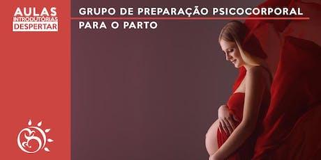 Aula Introdutória - Grupo de Preparação Psicocorporal para o Parto     ingressos