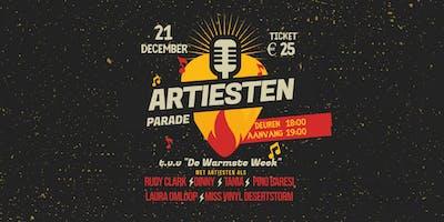 Artiestenparade t.v.v. De Warmste Week