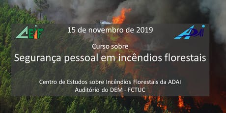 Curso sobre segurança pessoal nos incêndios florestais tickets