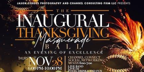 Inaugural Thanksgiving Masquerade Ball tickets
