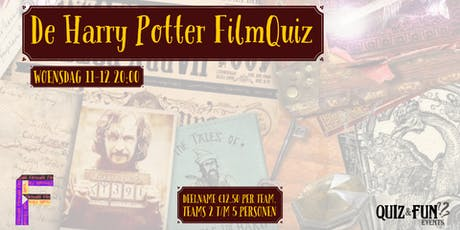 De Harry Potter FilmQuiz | Utrecht tickets