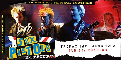 The Sex Pistols Experience (Sub89, Reading ) tickets