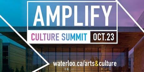 Amplify - Culture Summit 2019 tickets