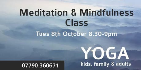 Meditation and Mindfulness Class Leicester tickets