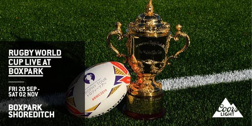 Rugby World Cup 2019 Quarter Final Screenings