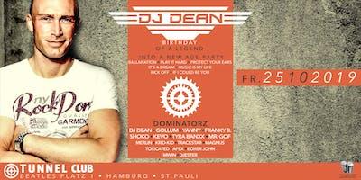 DJ DEAN - BIRTHDAY OF A LEGEND * * * * * FR 25.10.19