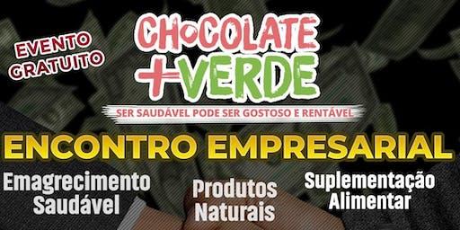 Encontro de Negócios Chocolate Mais Verde RJ
