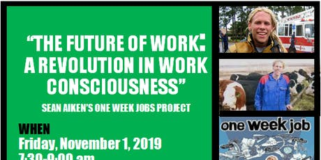 The Future of Work: A Revolution in Work Consciousness tickets