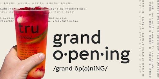 TRU |初茶Grand Opening!