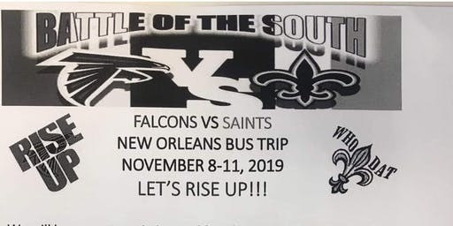 Falcons new orleans trip