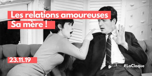 STAND UP / Les relations amoureuses, sa mère !