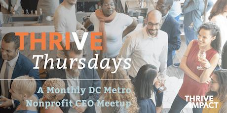 October Thrive Thursday –DC Metro Nonprofit CEO Meetup tickets
