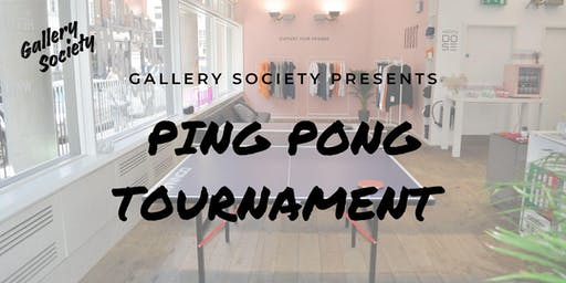 Ping Pong Tournament by Gallery Society