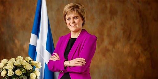 Celebration of 20 years in the Scottish Parliament with Nicola Sturgeon