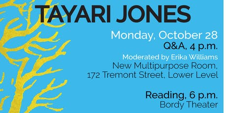WLP Reading Series: Tayari Jones Q&A tickets
