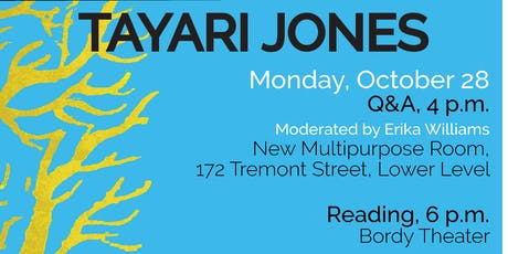 WLP Reading Series Reading: Tayari Jones tickets