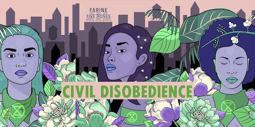 Registration for civil disobedience trainings