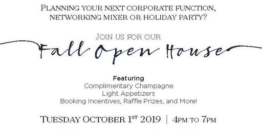 Fall Open House at The Rusty Pelican Tampa