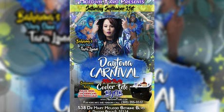 Daytona Carnival After Party Cooler Fete tickets