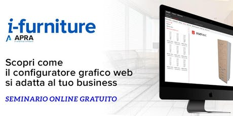 WEBINAR i-furniture 3CAD NEXT biglietti