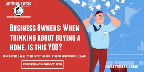 Home Buying & Real Estate  Investment for Entrepreneurs tickets