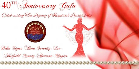 Delta Sigma Theta Sorority, Inc. FCAC 40th Anniversary Gala tickets