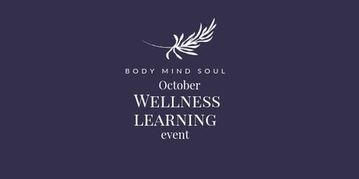 October Wellness Learning Event