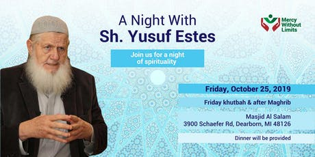 A Night with Sh. Yusuf Estes tickets