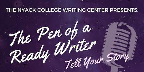 Pen of a Ready Writer tickets