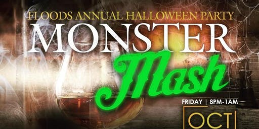 Floods Bar & Grille Annual Halloween Party Monster Mash