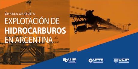 Explotación de Hidrocarburos en Argentina entradas