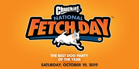 Chuckit!® National Fetch Day Official DC Party Partner tickets